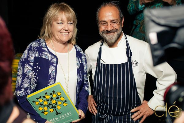 Chef Greg Malouf of Cle Dubai Book Signing.