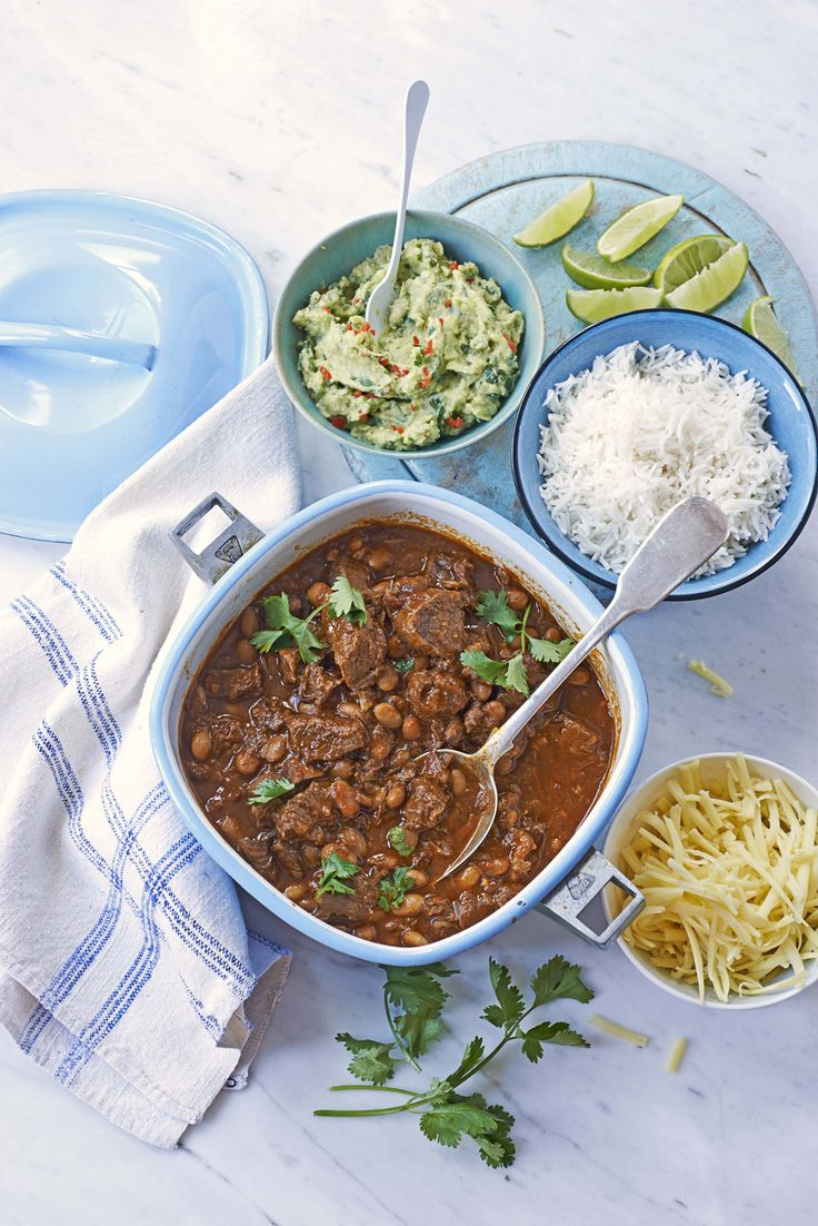 Hot and smoky beef chilli