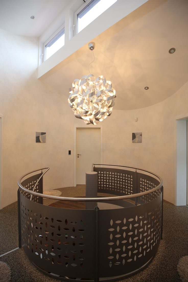 """Treppenhaus mit italienischer Effektlasur """"La Casa dei Sogni"""" von Giorgio Greasan"""