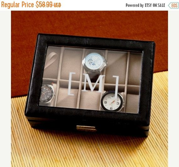 Mens Watch Box 1082 by RCPersonalizedGifts on Etsy