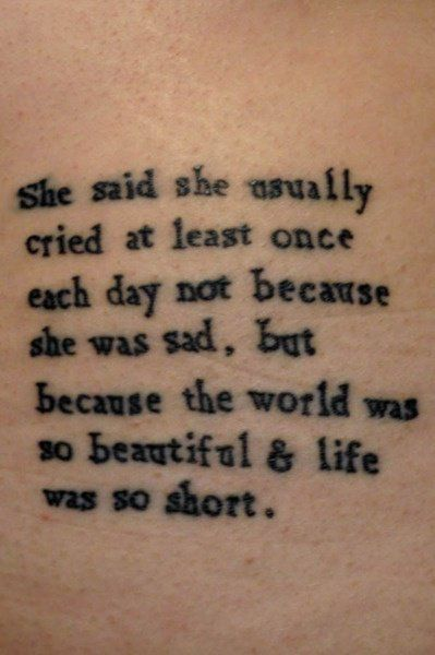 Good Meaningful Quotes For Tattoos: Best 25+ Meaningful Tattoo Quotes Ideas Only On Pinterest