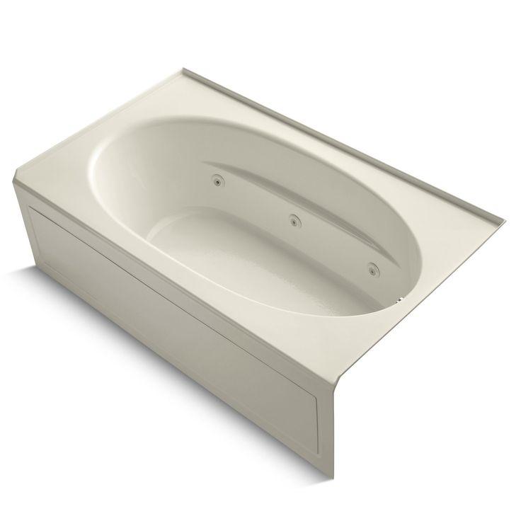 """Windward 72"""" x 42"""" Air / Whirlpool Bathtub"""