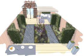 Twee terrassen, een spiegel en fruitplanten | Eigen Huis & Tuin