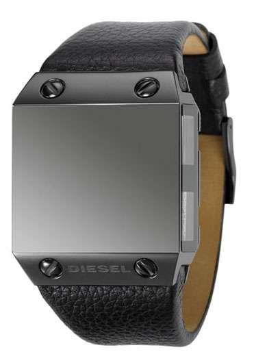 Diesel Black Label Timepiece Displays 4 Time Zones #watches trendhunter.com