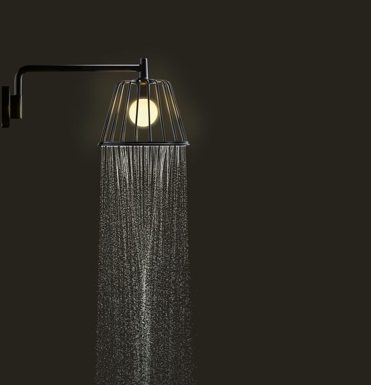 Axor Shower Lamp by Nendo for Hansgrohe. Exquisite!