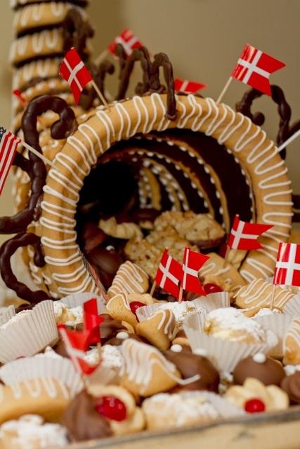 Olsen's Danish Village Bakery created authentic Danish cakes and desserts for Solvang's Centennial celebration in 2011. http://mysolvang.com/inn/olsen/pastry.html