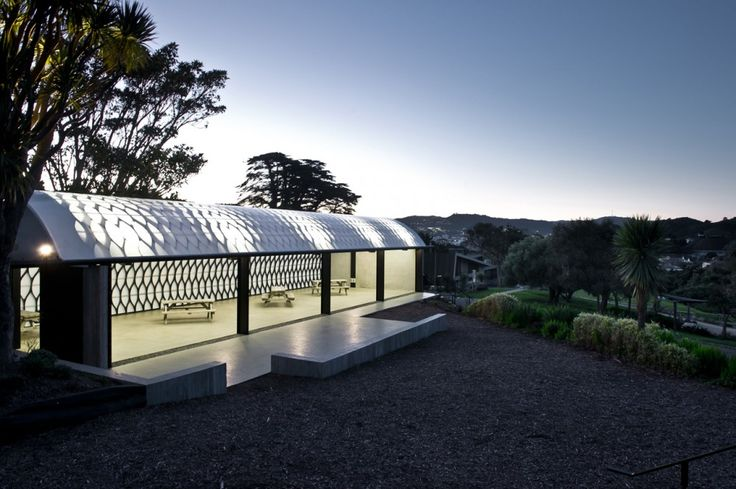The Wellington Zoo Hub in New Zealand by Assembly Architects Limited