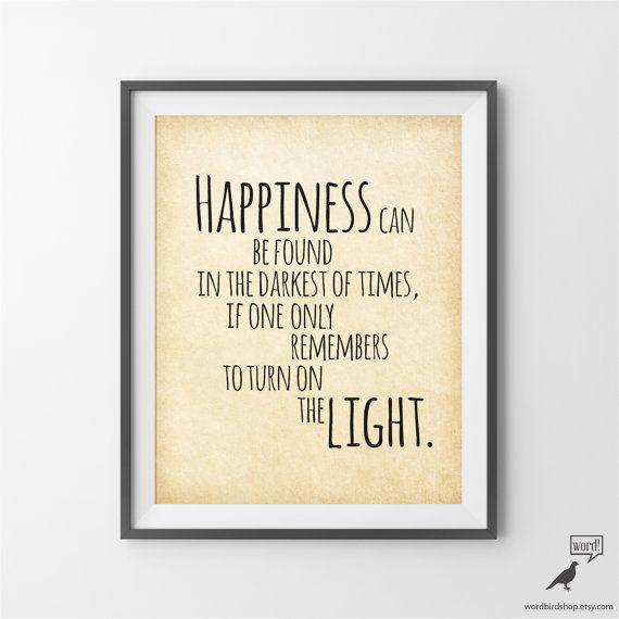Citazione di Harry Potter, arte ispiratrice, Albus Silente citare, Poster di Harry Potter, Harry Potter regalo, decorazione della parete, vivaio arte