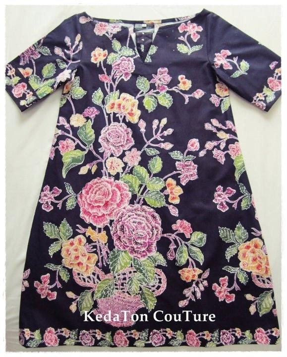 Batik dress-Sabrina