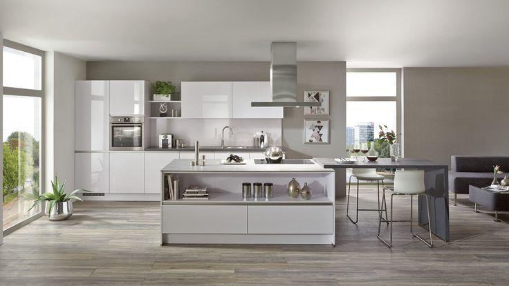42 best nobilia images on Pinterest Live, Dream kitchens and - Nolte Küchen Fronten Farben