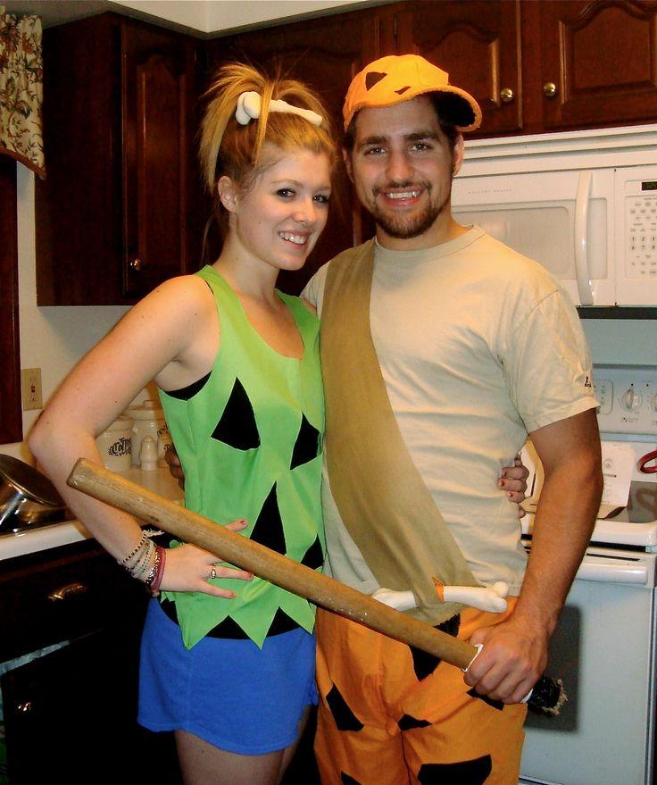 In case we go with Brian's Bam Bam & Pebbles Halloween costume idea, I like their cut holes idea