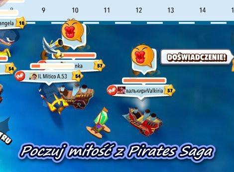 Zapraszamy Was do nowej akcji! Tym razem jej celem będzie przygotowanie walentynkowego zdjęcia związanego z grą Pirates Saga. Akcja nie jest indywidualna, zgłoszenia oczekujemy od zakochanych par! Nagroda za najlepsze zdjęcie to 2x 50 gleemmerów – po 50 g trafi do obojga uczestników ze zwycięskiej pary! http://wp.me/p2QwhS-Bz