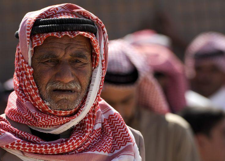 Man Wearing Red White Keffiyeh · Free Stock Photo