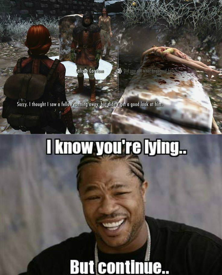 That moment when... - Elder Scrolls V: Skyrim