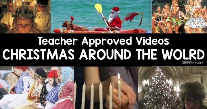 Here is your Teacher Approved Christmas Around the World Videos for Kids. You may not be able to travel the world, but you can show them with these cool videos.