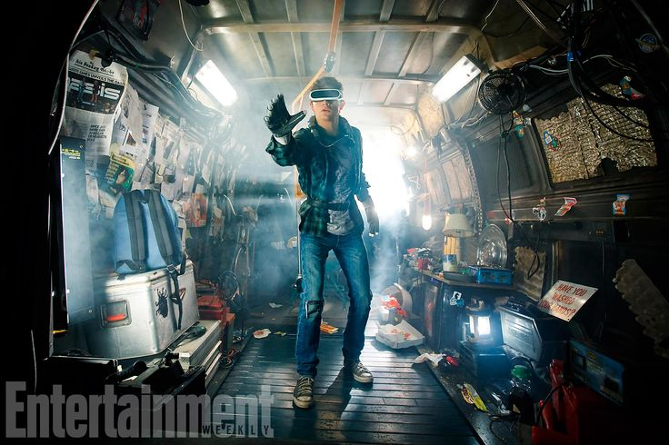 Ready Player One - I CANNOT wait for this.
