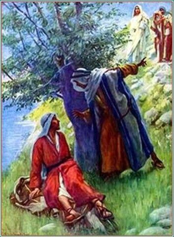 """DIOS ME HABLA HOY: Juan 1, 45-51 Felipe se encontró con Natanael y le dijo: """"Hemos encontrado a aquel de quien escribió Moisés en la ley y también los profetas. Es Jesús de Nazaret, el hijo de José"""". Natanael replicó: """"¿Acaso puede salir de Nazaret algo bueno?"""" Felipe le contestó: """"Ven y lo verás"""". Cuando Jesús vio que Natanael se acercaba, dijo: """"Éste es un verdadero israelita en el que no hay doblez"""".  http://palabradediosdiaria.blogspot.mx/"""