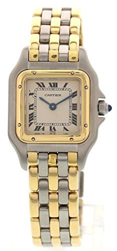 Women's Certified Pre-Owned Watches - Cartier Panthere swissquartz white womens Watch NA Certified Preowned *** Want to know more, click on the image.