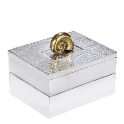Μεταλλικό Κουτί με Διακοσμητικό Ναυτίλο Αποκτήστε το δικό σας χειροποίητο κουτό online http://www.artistegifts.com/metaliko-kouti-diakosmitiko-nautilo.html