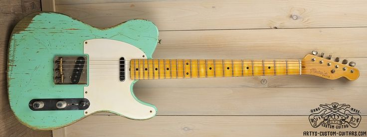 Telecaster Surf Green Heavy Relic Body Artys Custom