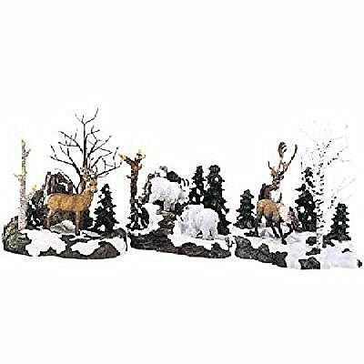 256 best department 56 village wishlist images on pinterest dept 56 woodland animals at cliffs edge publicscrutiny Image collections