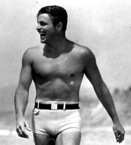 Buster Crabbe, unknown date.