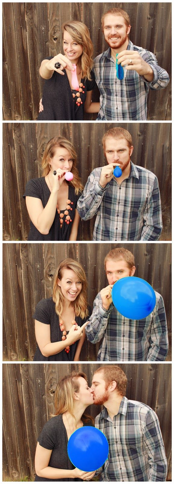 16 Weeks with Baby #2 - Gender Reveal Idea Balloons   Keeping Up With The Morgans