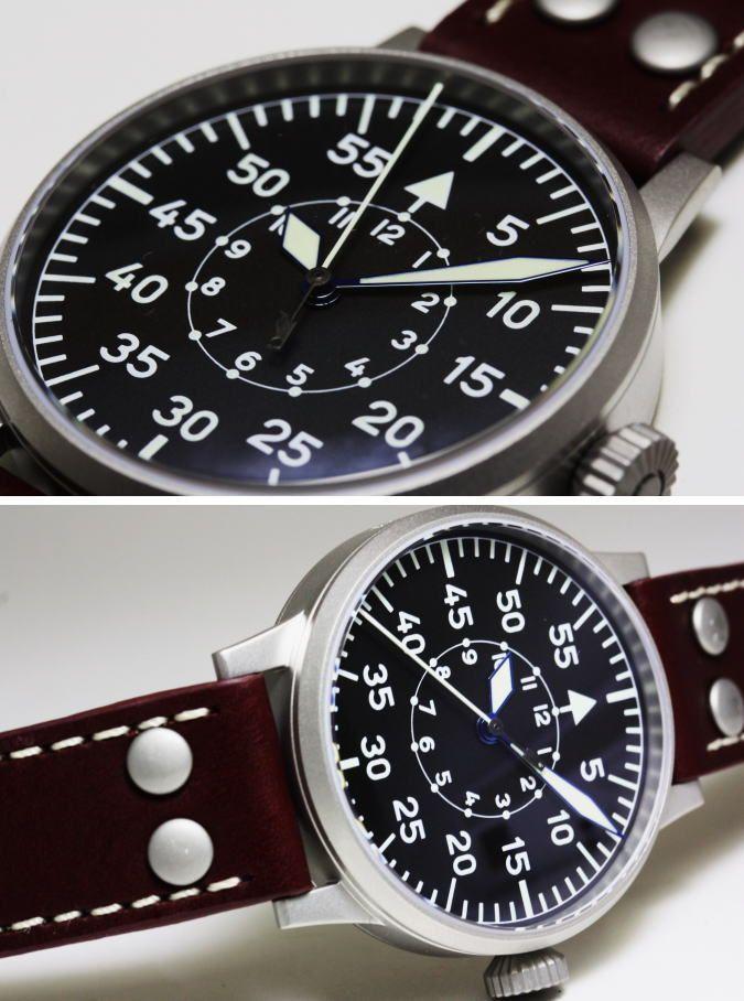 【楽天市場】ロゴなしモデル復刻!ドイツ空軍採用のLaco【ラコ】手巻き腕時計/MANHEIM/ミリタリーウォッチ:加坪屋(かつぼや)