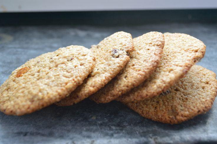 Healthy crispy cookies
