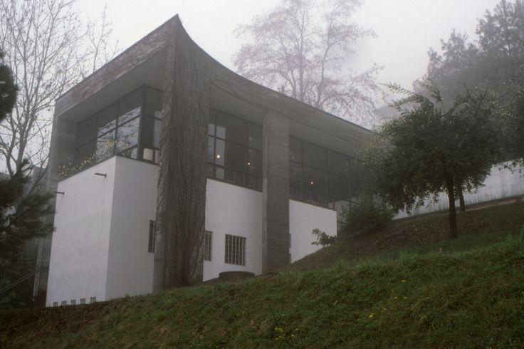 1975-77 Luigi Snozzi Casa Bianchetti Locarno-Monti - part I (part II) - via.