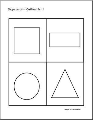 Nice Assortment Of Shapes Teaching Ideas Pinterest