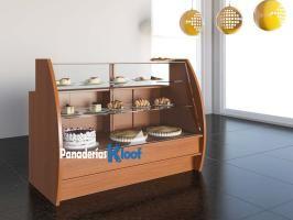 Panaderías Kloof   Mostrador vitrina 303