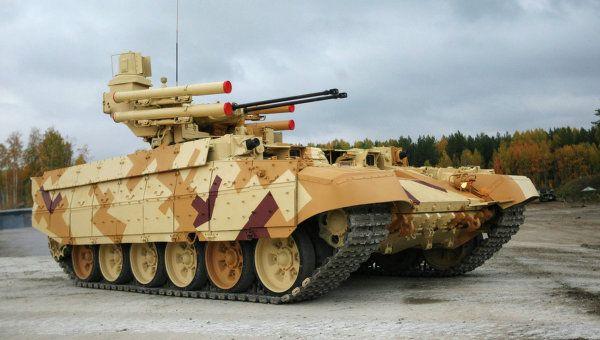 BMPT72 Terminator 2 - nem, nem az ítélet napja, de azért jobb nem összefutni vele... | Fotó: RIA Novosztyi