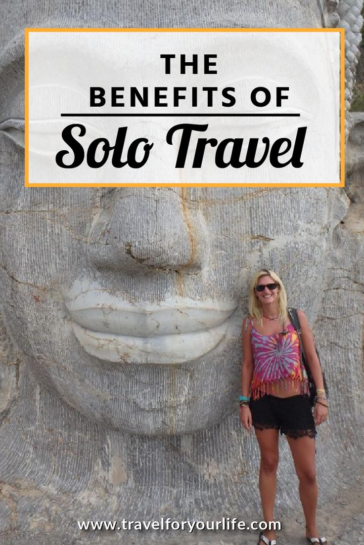 Solo Travel Tips | Benefits of Traveling Solo Having no one to travel with is one of the most frequently cited reasons that prevents people from going traveling. Solo travel almost isn't even considered as an option due to worries about it being boring, lonely and unsafe. And yet solo travel can actually be one of the most rewarding ways to travel.
