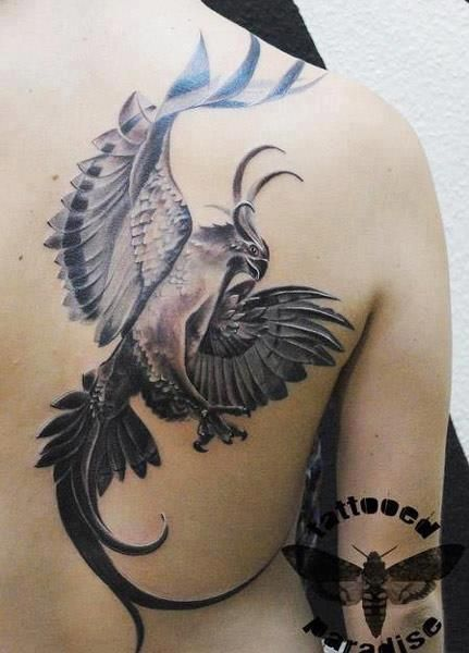 tatouage de phoenix 7 tatoo tattoo and tatoos. Black Bedroom Furniture Sets. Home Design Ideas