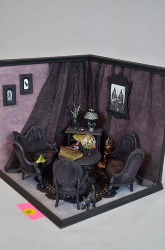 Kitchen Diorama Made Of Cereal Box: 17 Best Images About Roombox / Shadow Box / Diorama On