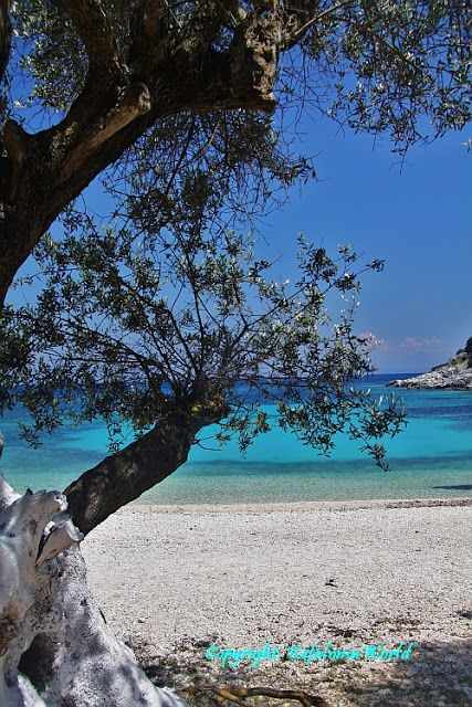 Emplisi Beach, near Fiskardo, Kefalonia, one of our favourite beaches