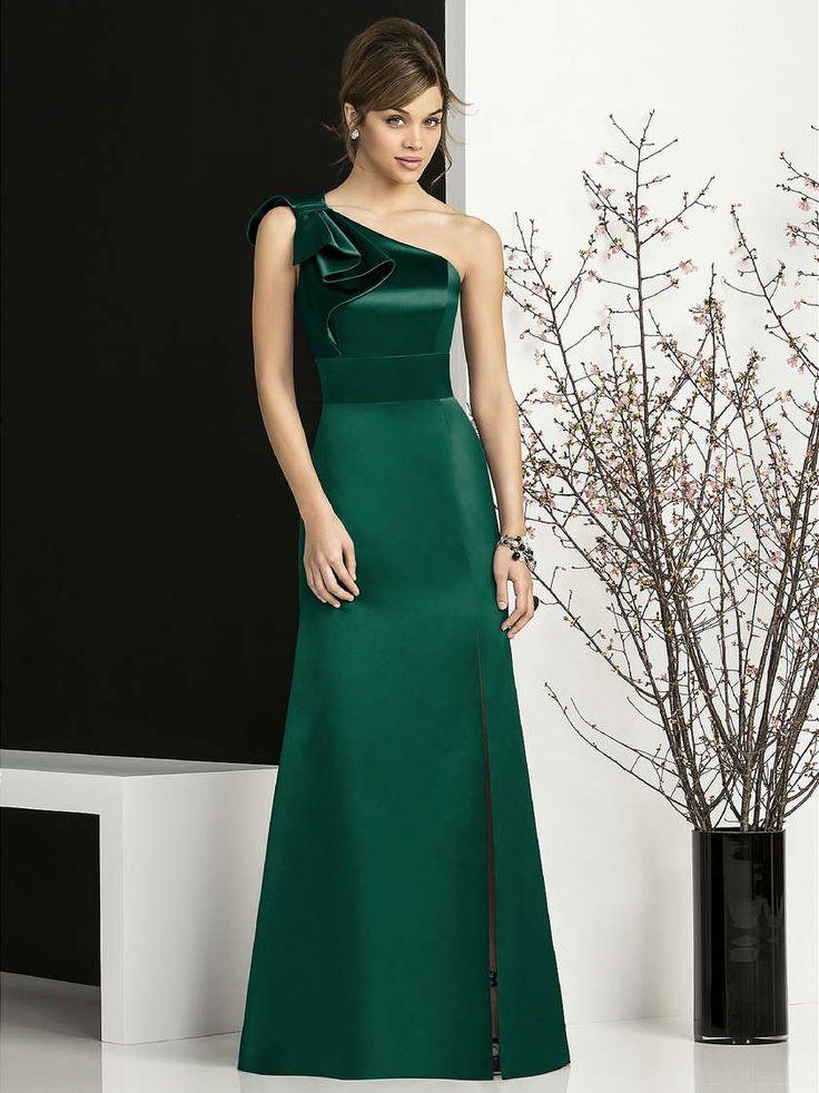 green-wedding-party-dress