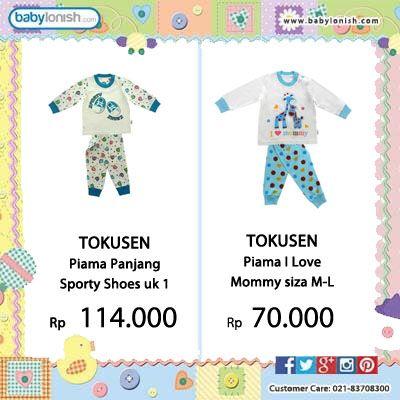 Babylonish menyediakan berbagai baju anak usia 0-3 tahun.  Bersertifikat SNI. Gratis ongkir seluruh Indonesia.