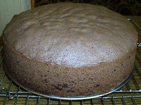 W mojej kuchni: Biszkopt kakaowy / czekoladowy wg Aleex