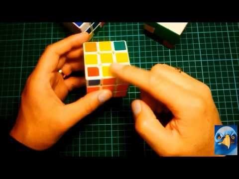 Cubo Rubik 3x3 casos para armar cruz amarilla capa superior - YouTube