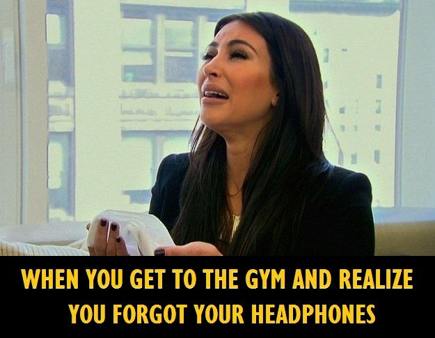 Don't be like KIM! Pack your headphones!