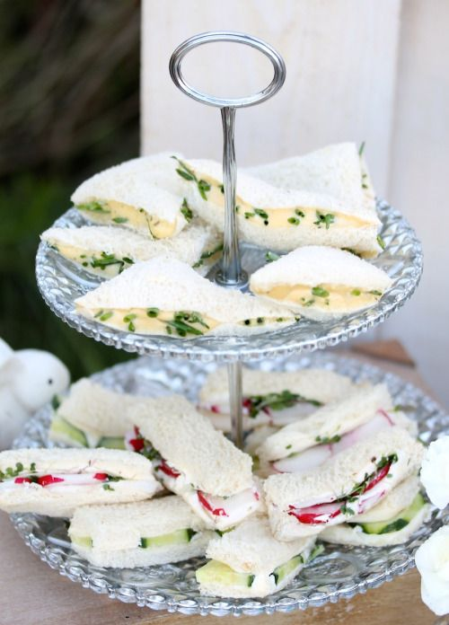 Planning a brunch, tea party or birthday party? These Traditional Tea Sandwiches are the perfect finger food to serve.