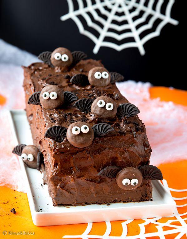Överi-ihana suklaakakku.