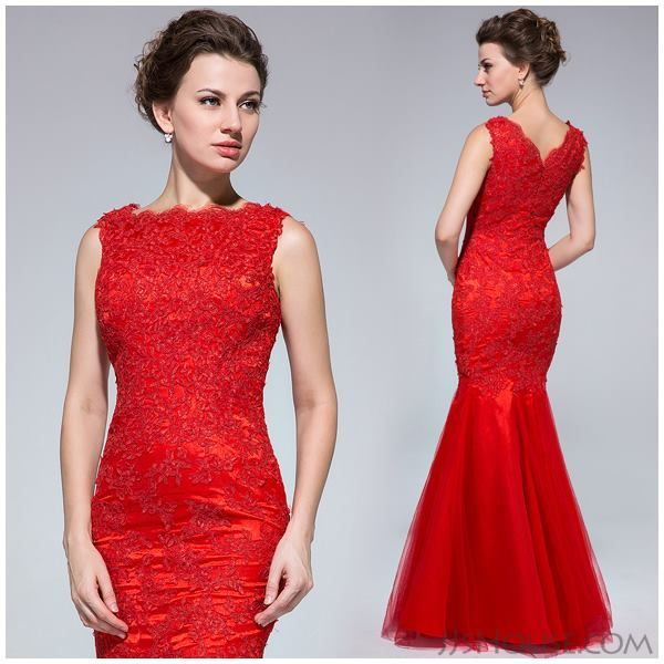 Red mermaid dress, if only...