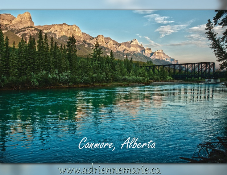 A morning walk in Canmore, Alberta
