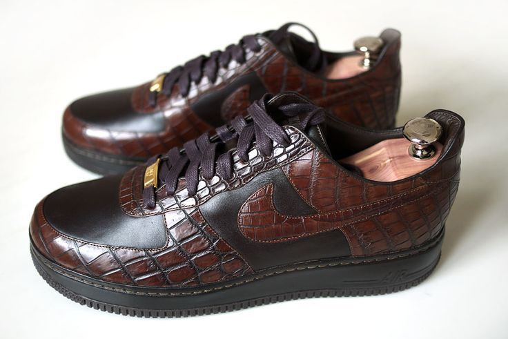 Italian handcrafted Nike Air Force Ones