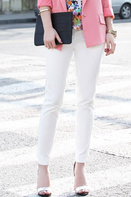 Pink and White, perfect style I've ever wanted!