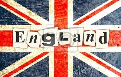 Fotomural inglaterra bandera inglesa - reino • PIXERS.es