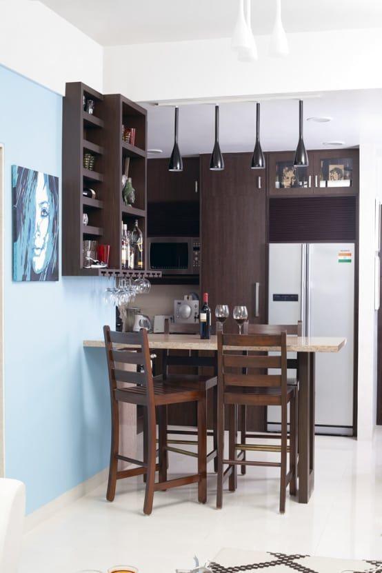 12 barras para cocinas pequeñas y modernas | house stuff | Apartment ...